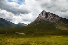 That's as much change as we need (Raphs) Tags: scotland glencoe highlands mountain light shadow steep rockface dramatic sky clouds gaps grass raphs canoneos70d canonefs1585mmf3556isusm stobdearg buachailleetivemòr fv5