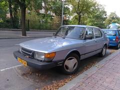 Saab 900i Sedan (crash71100) Tags: 900 saab cars