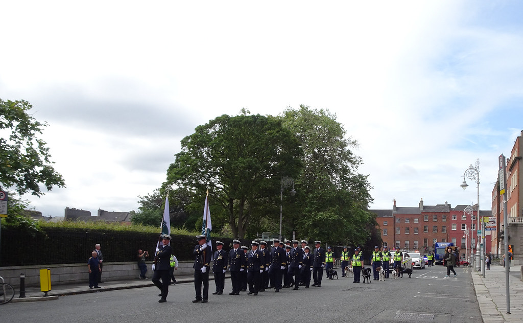 NATIONAL SERVICES DAY [PARADE STARTED OFF FROM NORTH PARNELL SQUARE]-143554