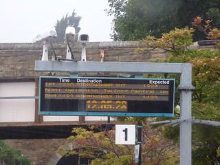 Conwy Station - trains to Birmingham International