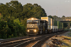 NS 216 at Austell (travisnewman100) Tags: norfolk southern ns emd sd60i austell inman terminal district 216 georgia division train railroad rr sunset