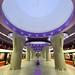 Nowy Świat-Uniwersytet metro station in Warsaw, Poland
