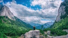 Me and nature (china_m) Tags: vrsic mountain nature slovenia