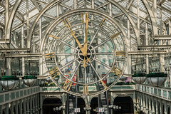 Clock (*Capture the Moment*) Tags: 2018 city dublin holiday ireland irland june shoppingcenter sonya6300 sonye18200mmoss sonyilce6300 stadt trip