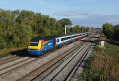 43081 Isham (Gridboy56) Tags: emt eastmidlandstrains isham kettering northamptonshire uk europe england diesel hst intercity125 railways railroad 43052 43081 1b18 nottingham london stpancras