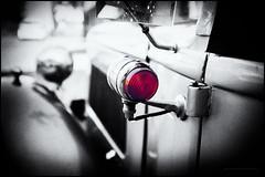 Austin 12 (G. Postlethwaite esq.) Tags: austin12 autonomousregion dof fujix100t macro madeira portugal restaurantedoforte bokeh closeup depthoffield photoborder rearlight red selectivefocus