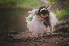 Unicorn Fairy (9655TS) Tags: child nature portrait woods goldenhour nikond750 85mm evening toddler