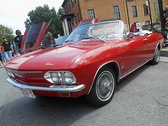 1965 Chevy Corvair Monza Convertible (splattergraphics) Tags: 1965 chevy corvair monza convertible carshow charlestownwv