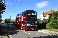 Chambers at Nayland (Chris Baines) Tags: chambers volvo b7tl plaxton president v303 lgc nayland suffolk