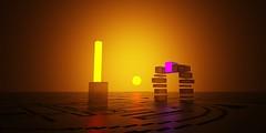 portal (mark_irvine) Tags: sun scifi portal doorway 3d 3dmodel