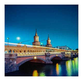 Oberbaumbrücke on Kodak Ektar 100