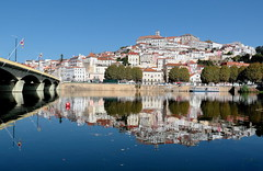 """Coimbra """"the city of students"""" (Behappyaveiro) Tags: coimbra portugal europa mondegoriver panorama cityscape mirror panoramicview thecityofstudents"""
