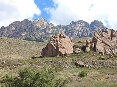 Organ Mountain's Majesty (Tiffany T. Photography) Tags: outside outdoors new mexico nikon p900 mountains