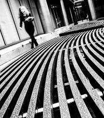 lines (Jonathan Vowles) Tags: city london bench girl lines curves
