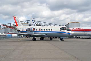DLR Flugbetriebe Vereinigte Flugtechnische Werke VFW-614 D-ADAM HAM 15-09-07