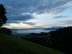 Sunrise at Moosegg (Marit Buelens) Tags: clouds mist nebel nevel fog sunrise zonsopgang schweiz suisse zwitserland switzerland langnau moosegg emmental bern alps alpen