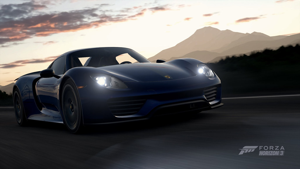 Porsche 918 Spyder Abdullah Rasheed 96 Tags Forza Motorsport Horizon 3 Screenshot Game