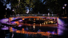 Le Pont des Amours, Annecy, France (french.mamba) Tags: nightlights night nightphotography nightshot nights neon lights annecy france bridge pont