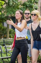 1359_0337FL (davidben33) Tags: newyork manhattan summer unionsquarepark grass trees flowers people crowd women girls street streetphotos festive dance music joy beauty fashion colors 718 washingtonsquarepark