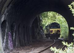 Clifton Bridge No. 1 Tunnel (powern56) Tags: bristol avongorge portburydock cliftonbridgetunnel colas colasrailfreight class70 70805 0z70 diesellocomotive railwaytunnel railway