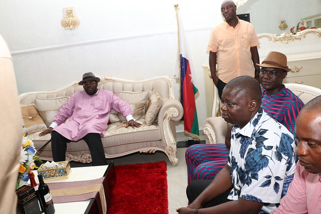 HSDickson- Condolence visit by civil society leaders.23rd August 2018