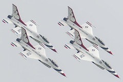 Attack Force (Notkalvin) Tags: thunderbirds usaf thunderovermichigan2018 jet plane airforce amazing flying flight f16 fighter america usa military vehicle tightformation outdoors planes canon four multiple