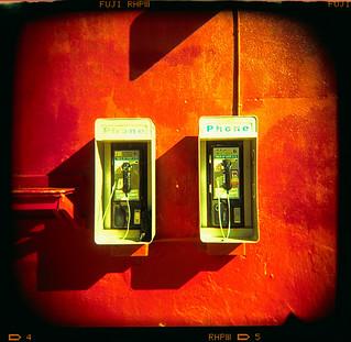 payphones (xpro). venice beach, ca. 2006.