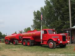 Lee & Eastes 1940 Sterling fuel tanker truck (Michael Cereghino (Avsfan118)) Tags: 2018 brooks truck show 18 sterling 1940 40 tanker fuel hauler lee and eastes oregon