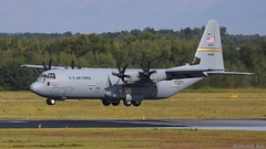 USAF 14-5802 (Ronald Air) Tags: usaf united states air force hercules c130 eindhoven airport eheh netherlands avaition aircraft airplane transporter military mil