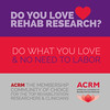 DO YOU LOVE REHAB RESEARCH?