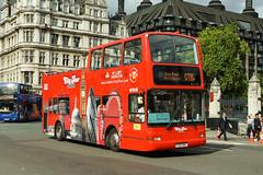 London City Tour, Stanwell - T215 XBV (peco59) Tags: t215xbv daf db250 plaxton president dlp215 dlp15 opentopbus bus londoncitytour julia arrivalondonnorth psv pcv originallondon