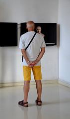 Il marito dell'archeologo (Colombaie) Tags: roma 2settembre palazzodeiconservatori palazzonuovo museicapitolini campidoglio arte classica archeologia statuaria statue virilità uomo maschio ritratto dischiena marco schermo busto virile