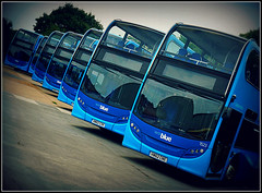 Vectis Blue (Jason 87030) Tags: e400 enviro doubledeckers lay resting depot museum transport blue southernvectis gosouthcoast test fun experiment frame border hw62cne 1523 color colour picmonkey arty farty artistic lomo filter sony ilce alpha a6000 buses 2018