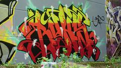 Oldenburg - (street: Melkbrink) 580th picture / Graffiti, street art (tusuwe.groeber) Tags: projekt project lovelycity graffiti germany deutschland lowersaxony oldenburg city streetart niedersachsen farbig farben favorit colourful colour sony sonyphotographing nex7 bunt red rot art gebäude building gelb grün green yellow konzept concept wall wand halloffame wandgestaltung lager lagerhalle hall halle melkbrink
