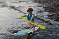 StandUp03 (Klickystudios) Tags: outdoor ostsee meer playmobil strand spielzeug standuppaddling