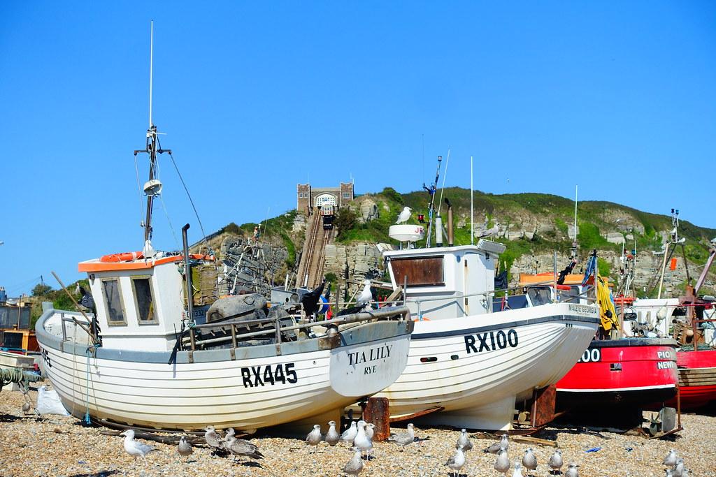 The Hastings Fishing Fleet