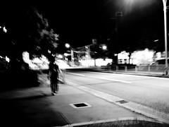 (takashi ogino) Tags: pentax q7 justpentax digital people night 01standardprime bw blackandwhite monochrome street streetphoto streetphotography