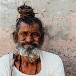 Dreadlocked Sadhu Portrait, Vrindavan India thumbnail