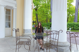 In the Pavlovsk park