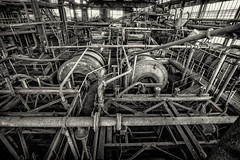 Mine de Grimpeurs 17 (roelboom) Tags: abandoned france factory decay fabriek coal coalmine coalmining mine industrial old roelboom roelito rusty rust urbex urbanexploration urbanexploring verlaten verlassen zeche