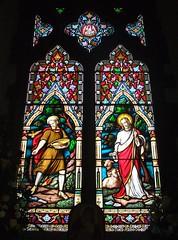 St. Mary's Church, Chiddingfold, Surrey (Living in Dorset) Tags: stainedglasswindow churchwindow church window stmaryschurch chiddingfold surrey england uk gb