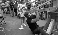 Gowanus Block Party 2018 (triebensee) Tags: leica m3 leitz summaron 35mm f28 fomapan100 kodakhc110 dilutionh epsonv700 film rangefinder blackandwhite selfdeveloped brooklyn gowanus