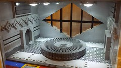 SHIPtember Day #7 (Ty S.) Tags: shiptember ship scifi diamond window view glass circle table door tiles lego moc space light lights wip
