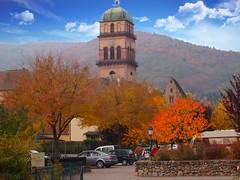Kaysersberg (Alsace, F) (pietro68bleu) Tags: alsace vignoble église automne