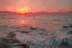 Red Sun Morning (Al Perrette) Tags: alperrette