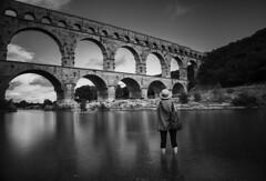 The bridge (Pixilated Planet) Tags: bridge place france avignon clouds architecture bricks ancient