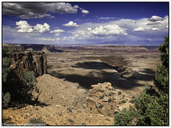 Clouds, Canyons and shadows - Canyonland NP (booster90017) Tags: moab utah unitedstates us clouds ngo ngc desertscapes red rocks colorado river