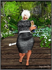 Afternoon Garden Stroll (ximajica) Tags: enticestore virtualreality virtualrealityworld virtual vamplove secondlifefashion secondlife sladdicted sl pixels pixel neko kitty imajica happy gamer fashionblogger fashion fashionista daddysgirl collared bloggerstyle blogger blogging blog avi avatar