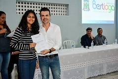 Certificação Sesi (Prefeitura do Município de Bertioga) Tags: certificação sesi cursos prefeito caio matheus desenvolvimento social vila do bem certificados
