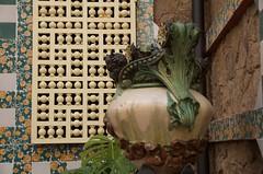 Casa Vicens, Barcelona. Architect: Antoni Gaudí (heraldeixample) Tags: heraldeixample bcn barcelona spain espanya españa spanien catalunya catalonia cataluña catalogne catalogna arquitectura architecture architekture pensaernïaeth 架构 arkitektur architettura สถาปัตยกรรม arkitettura modernisme artnouveau tiffany jugendstil sezessionstil wiener sezession stile900 floreale liberty lapedrera casamila gaudí albertdelahoz